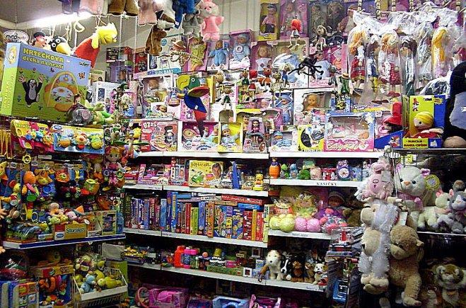 prodejna hračky