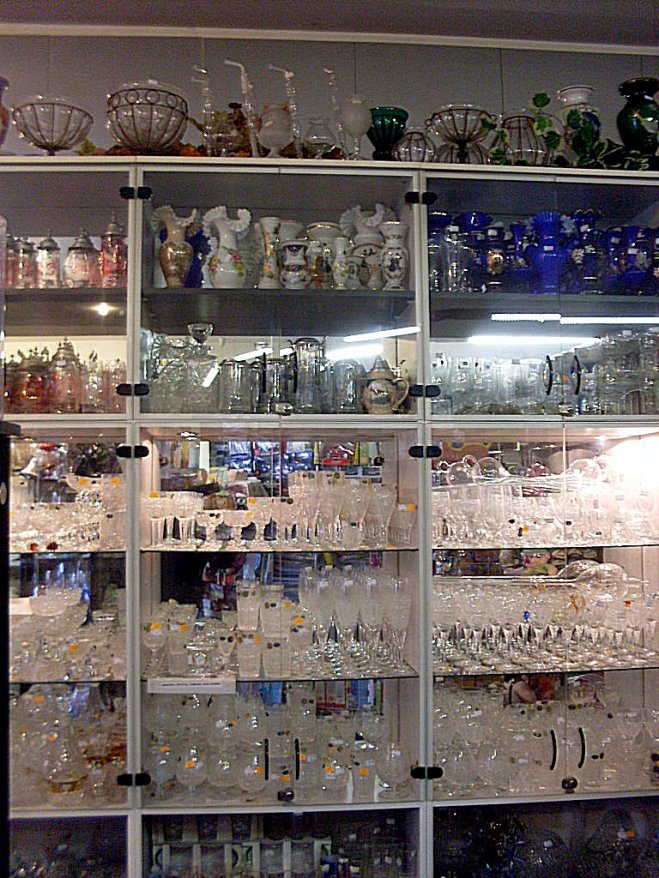 prodejna sklo