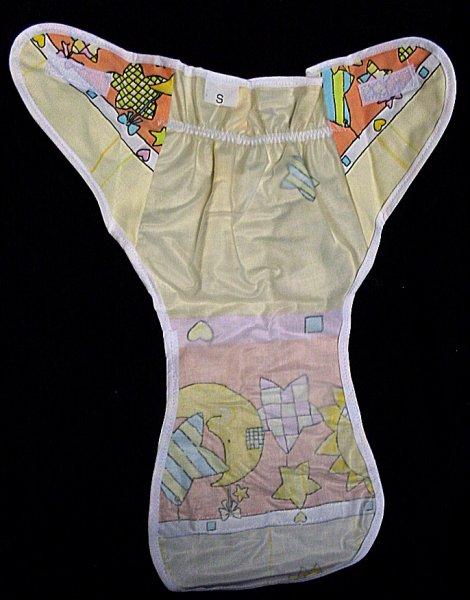 79bb3934ffe Kalhotky pro dítě igelitové ortopedické na fixaci látkových plínek L  největší