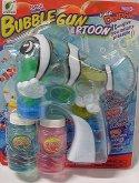 Bublifukátor dělá bubliny na bat...