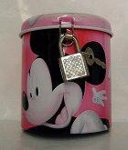 Kasička kovová pokladnička Disney Mickey Mouse ...