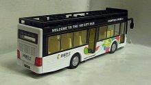 Autobus patrový City Bus kovový ...
