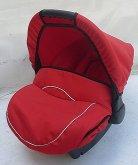 autosedačka Freestyle 0 až 13 kg červené černá