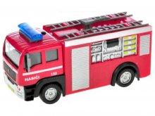 Auto hasiči kovové na baterie se zvukem se světlem