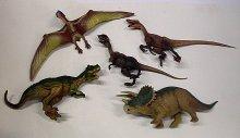 Dinosauři 5 kusů plastových figu...