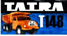 Auto Tatra T 148 plast 73 cm Ora...