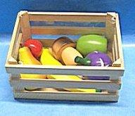 Přepravka ovoce zelenina dřevěná hračka