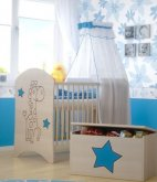 BabyBoo Dětská postýlka LUX ŽIRA...