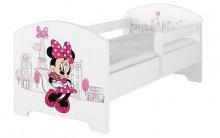 BabyBoo Dětská postel 140 x 70cm Disney - Minni...