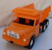 Auto Tatra 148 plast 73cm oranžo...