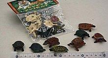 Želvičky sada 8 kusů želv plastových v sáčku