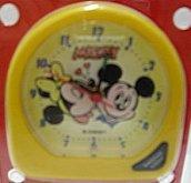 Budík Disney s obrázkem Mickey mause a Minnie ž...