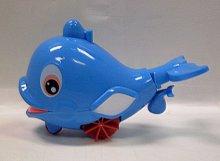 Delfín jezdící plavající stříkací natáhnutelný ...
