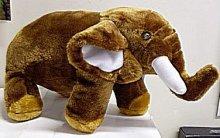 Slon velký zvukový plyšový