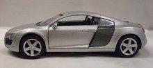 Audi R8 kovový model auta 1:43