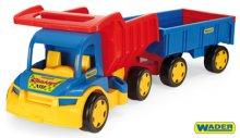 Auto Gigant truck + dětská vlečka plast 55cm v ...