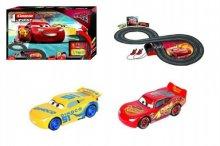 Autodráha Disney Cars go Carrera se 2 autíčky Cars