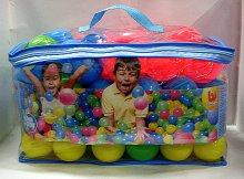 Balonky sada 100 kusů s batohem