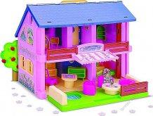 Dům růžový s příslušenstvím Stav...