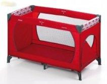 Cestovní postýlka s průlezem red červená 120x60 cm