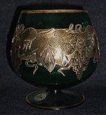 Brandy sklenice odlivky na koňak...