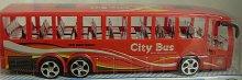 Autobus Maxi velký City Bus na setrvačník plast...