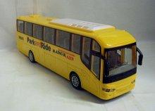 Autobus svítící R/C na dálkové ovládání s packe...
