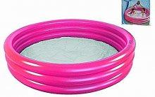 Bazén kulatý jednobarevný nafukovací 122 cm průměr