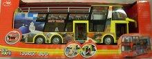 Autobus patrový City tour výletní s horní otevř...