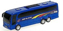 Autobus zájezdový modrý plastový
