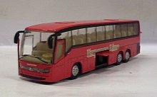 Autobus Express Line červený svítící se zvukem ...
