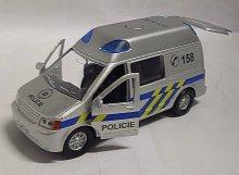 Auto kovové Policie zvukové se s...