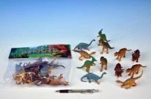 Dinosaurus sada 12 kusů figurek plastových 9-10...