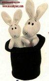 Bob a Bobek králíci v klobouku i s kloboukem pl...