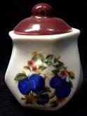 Dozička porcelánová hranatá s víkem MTM 67