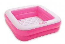 Bazén hranatý nafukovací čtvercový 85 x 85 cm v...