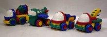 Autíčka vozidla pro nejmenší kluky na setrvační...