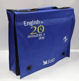 Kufřík English in 20 minutes a day modrý
