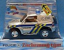 Auto Městské Policie české republiky stříbrné P...