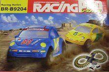 Autodráha Novinka Racing Pro s autičky s přepín...