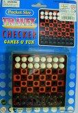 Cestovní šachy kapesní hra Travel Chjecker Game...