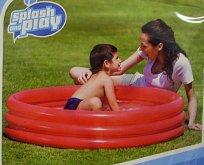 Bazén nafukovací 102x25 cm 3 komory kulatý 110 ...
