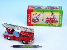 Auto Mercedes 335 hasiči kov 17cm 1:43 v krabič...