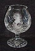 Brandy odlivky sklenice křišťálové speciální če...