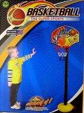 Basketbalový koš na tyči s pumpičkou