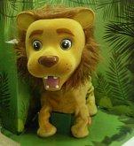 Lev interaktivní zvukový z plyše...