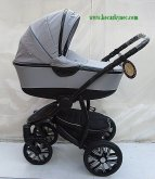 Kočárek Grey Silva line Elegance tříkombinace S...