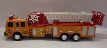 Auto hasičské požárníci se žebří...