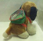 Bernardýn pes s batohem plyšový ...