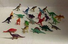 Dinosaurus malý sada 24 kusů figurek plastových...